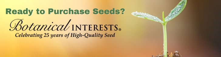 Botanical Interests banner
