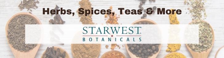 Starwest Botanicals banner